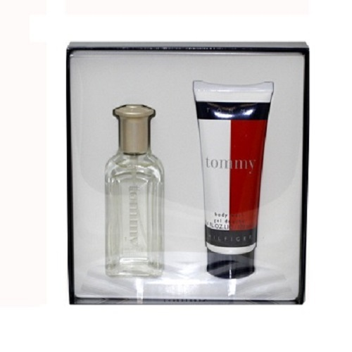 Tommy Hilfiger Gift Set for men - 3.4oz Eau De Toilette spray & 3.4oz After Shave Balm